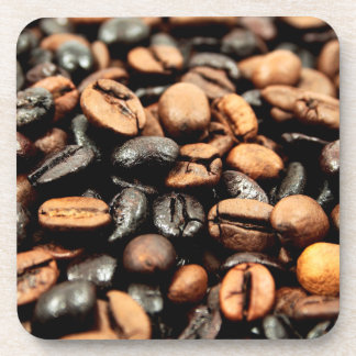 Coffee Beans Photography Drink Coasters