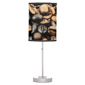 Coffee Beans Photography Table Lamps