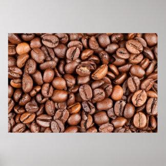 Coffee beans print
