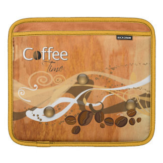 Coffee Beans  Rickshaw Sleeve iPad Sleeve