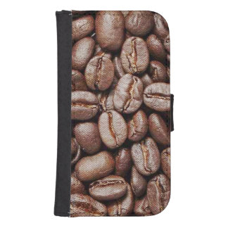 Coffee Beans Samsung S4 Wallet Case