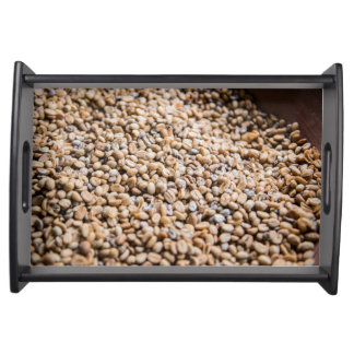 Coffee beans serving tray