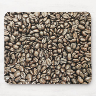 Coffee Beans Structure Texture Mouse Pad