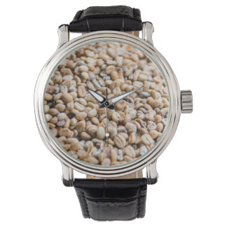 Coffee beans watch
