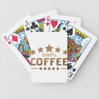 coffee bicycle playing cards