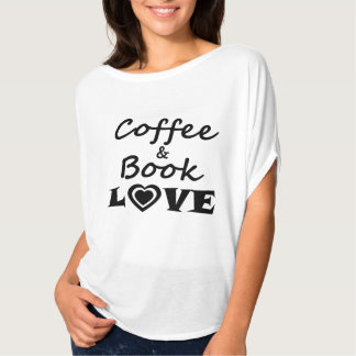 Coffee & Book Love T-Shirt