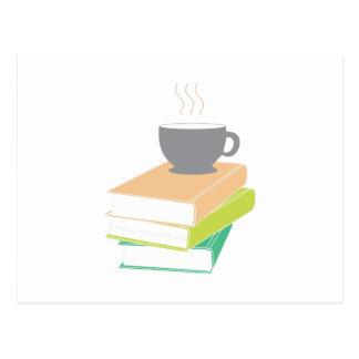 Coffee & Books Postcard