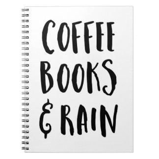 Coffee, Books & Rain Quote