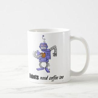 coffee bot coffee mug