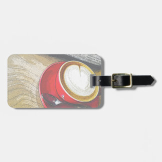 Coffee Break Collection Luggage Tag