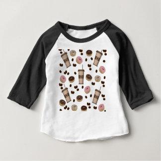 Coffee break pattern baby T-Shirt