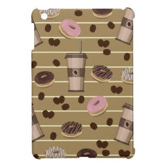 Coffee break pattern iPad mini case