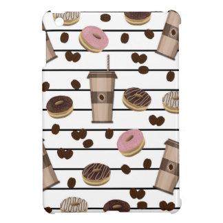 Coffee break pattern iPad mini cases
