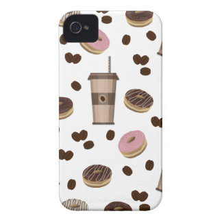 Coffee break pattern iPhone 4 Case-Mate case