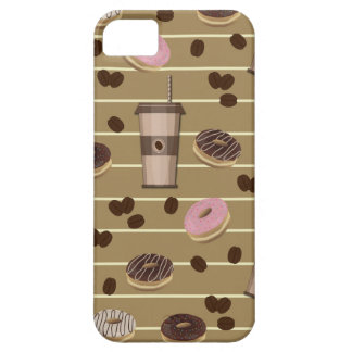 Coffee break pattern iPhone 5 cover