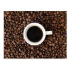 Coffee break postcard