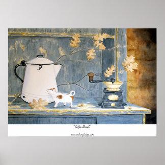 """Coffee Break"" Print"