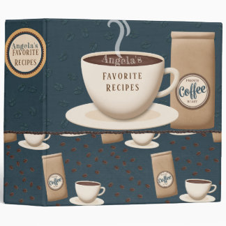 Coffee Break Recipe Binder