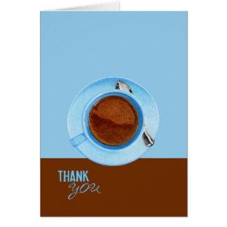 Coffee Break Thank You Card