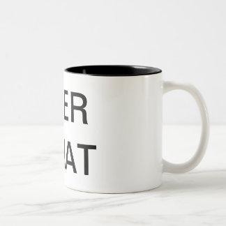 COFFEE BREAK Two-Tone COFFEE MUG