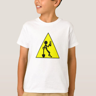 Coffee Break Warning Sign T-Shirt