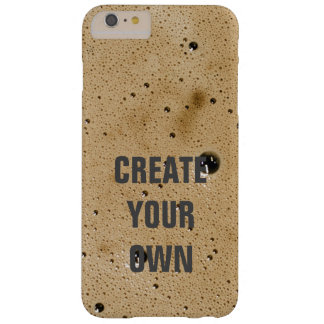 Coffee Bubbles Create Your Own Barely There iPhone 6 Plus Case