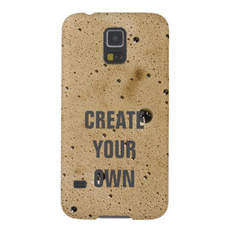 Coffee Bubbles Create Your Own Galaxy S5 Cover