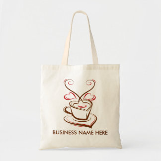 Coffee business advertising promotional canvas bag