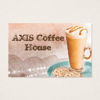 Coffee Business Card Cookies