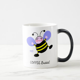 Coffee Buzz Bumblebee Caffeine Addict Cute Funny Magic Mug