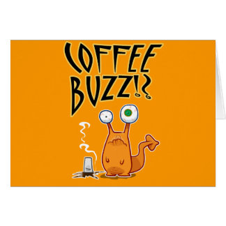Coffee BUZZ!? Card