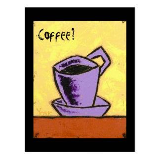 Coffee?  Call me postcard