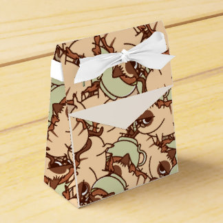 Coffee Cat Favor Box