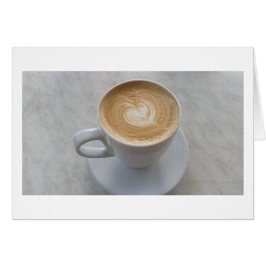 Coffee Catch up Card