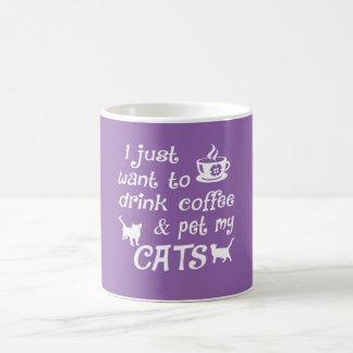 Coffee & Cats Coffee Mug