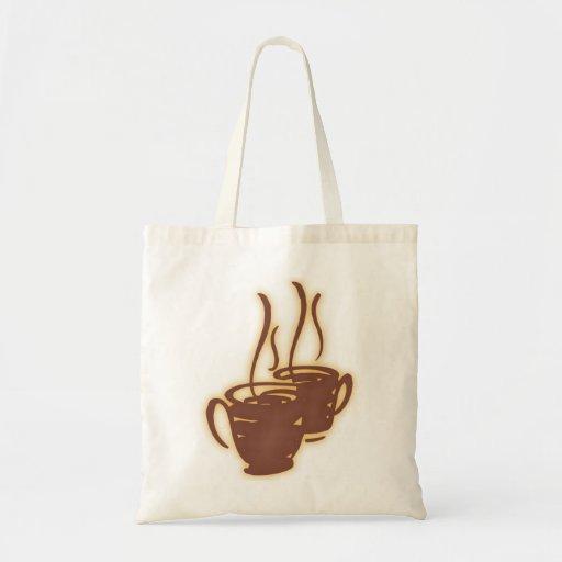 Coffee coffee canvas bag