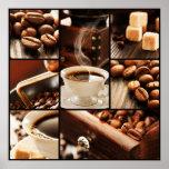 Coffee Collage Print