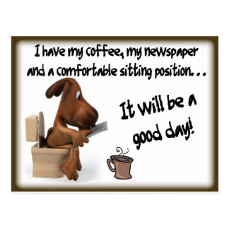 Coffee Comfort Postcard