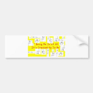 Coffee crack bumper sticker