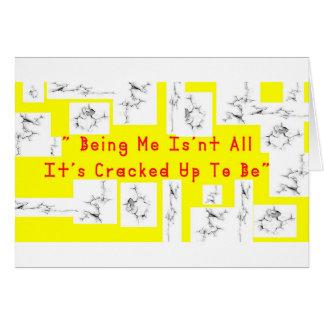 Coffee crack card