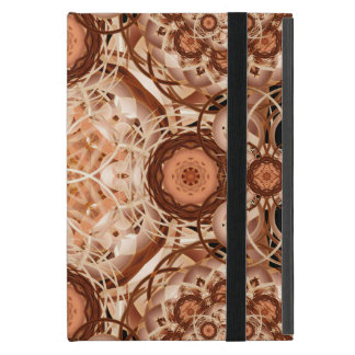 Coffee & Cream Mandala Covers For iPad Mini