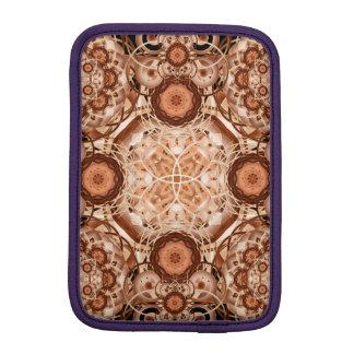 Coffee & Cream Mandala iPad Mini Sleeve