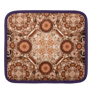 Coffee & Cream Mandala Sleeve For iPads