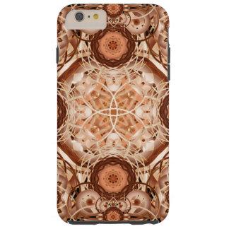 Coffee & Cream Mandala Tough iPhone 6 Plus Case