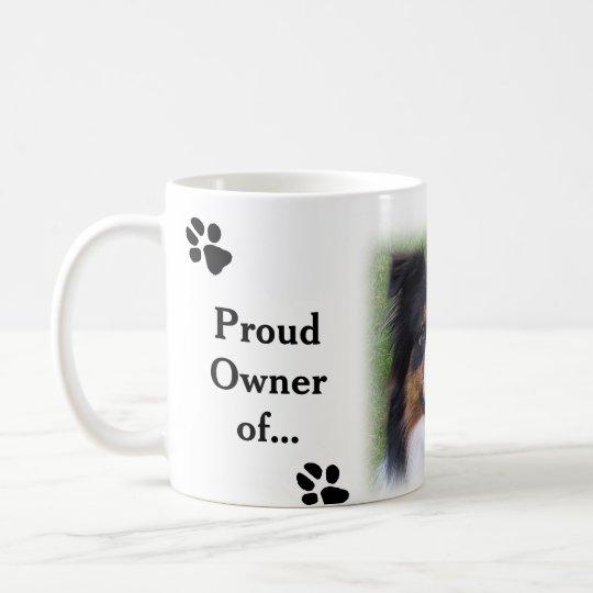 Coffee Cup Australian Shepherd