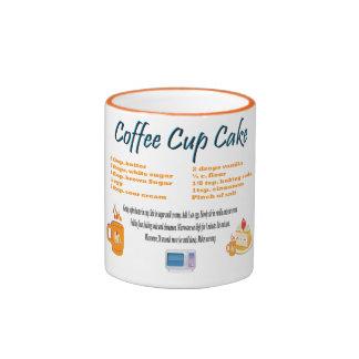 Coffee Cup Cake Ringer Coffee Mug