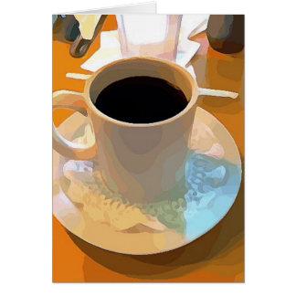 Coffee Cup Card