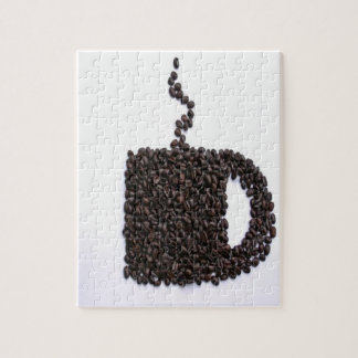 Coffee Cup, Coffee Beans Puzzles