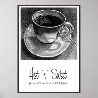 Coffee Cup Hot `n´ Sweet Poster