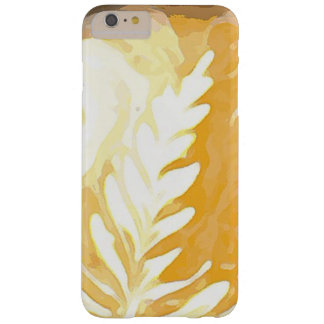 Coffee cup Leaves of Cream Barely There iPhone 6 Plus Case